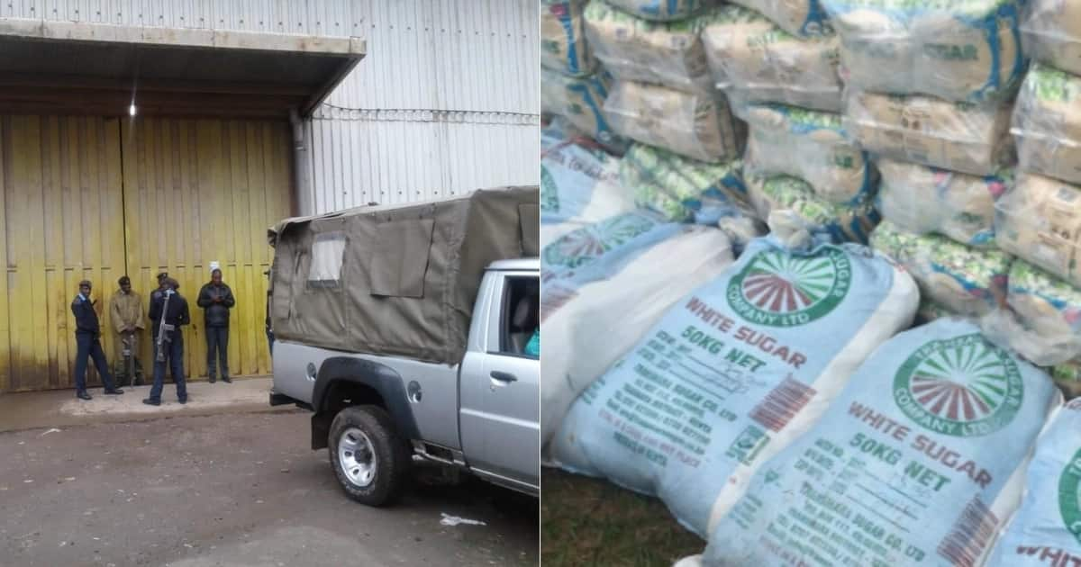 30 supermarket employees caught red-handed repackaging poisonous sugar in Nyandarua