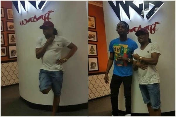 How Diamond Platnumz BADLY embarrassed a Kenyan singer at his Wasafi Records offices