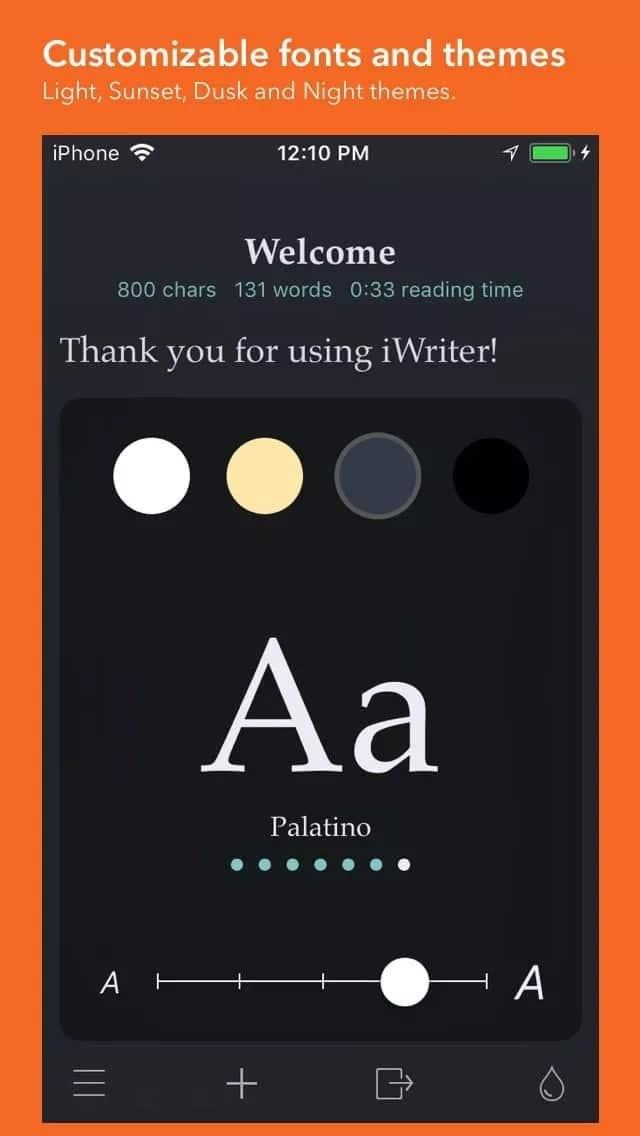 iwriter app