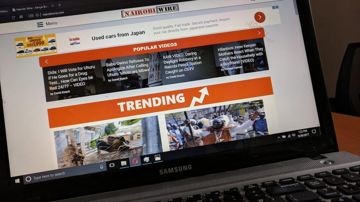 Top 10 Most Visited Websites in Kenya