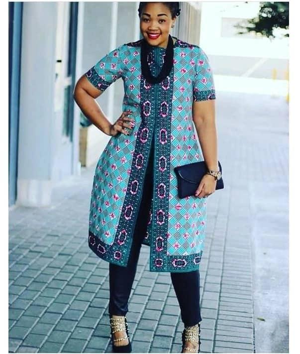 Ankara designs for plus size ladies