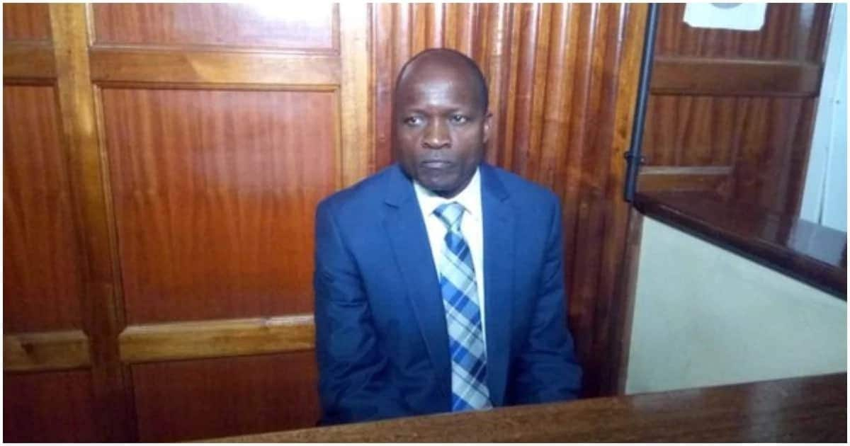 Governor Obado ate, shared cell with 'common criminals' while in police custody