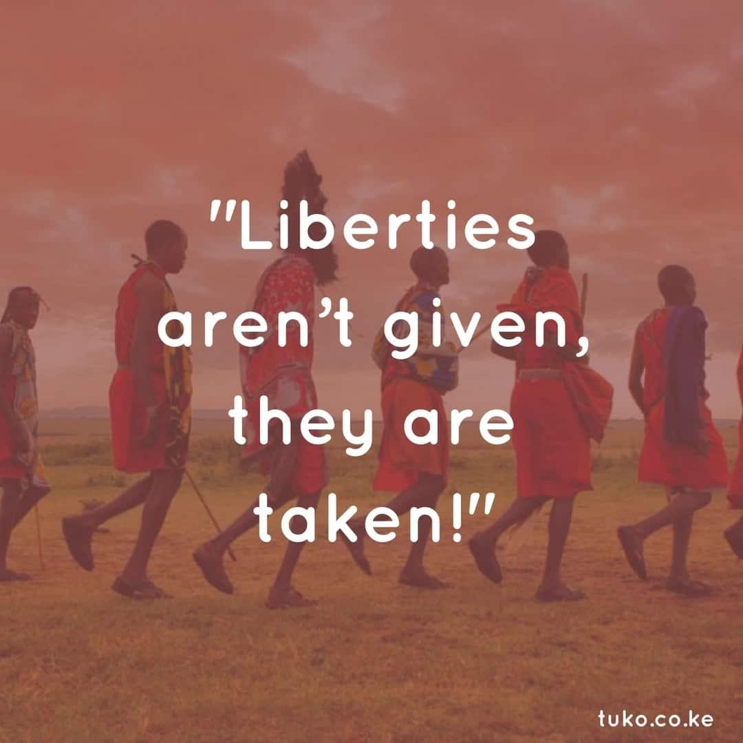 Madaraka Day quotes