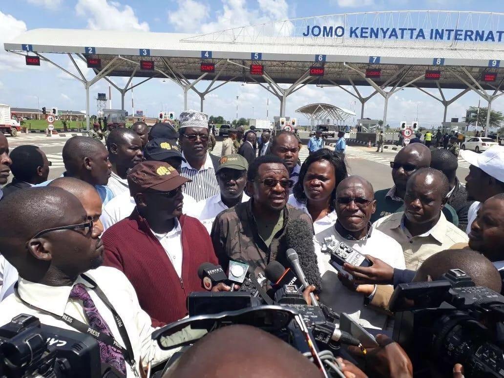 Usalama waimarishwa JKIA huku Raila akirejea Kenya kutoka London