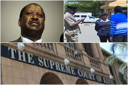 Showdown as police officers chase away NASA leaders from Supreme court