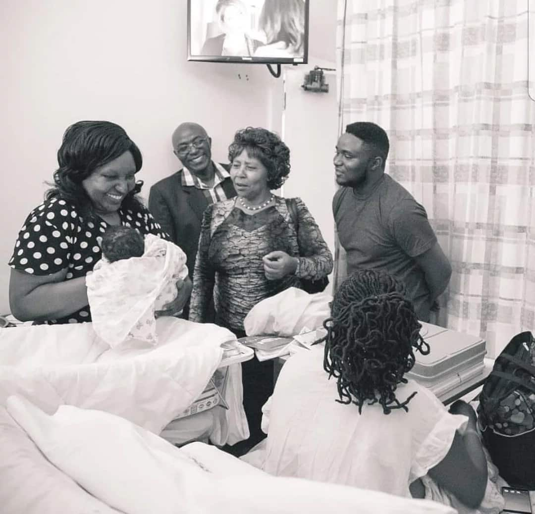 Celebrated gospel singer Pitson welcomes baby number two