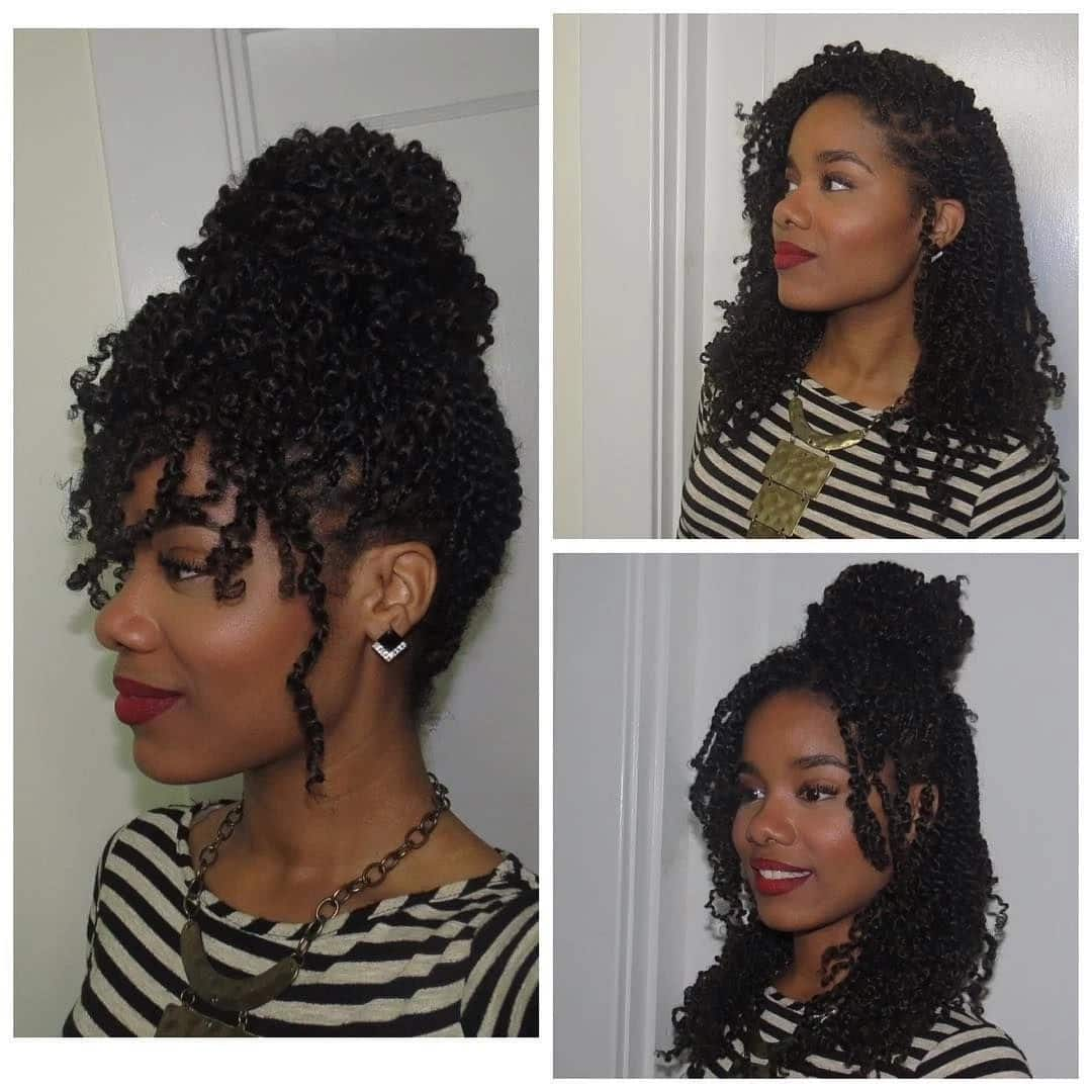 How To Twist Afro Kinky Hair Tuko Co Ke