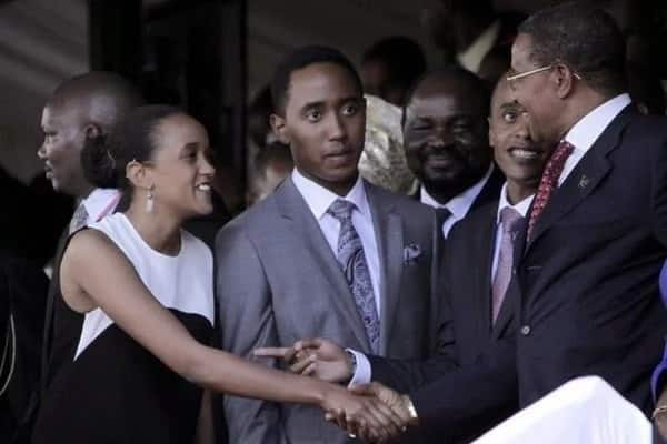 Mashariaz Uhuru s Son Alleged To Be Dating Moi s Grand Daughter