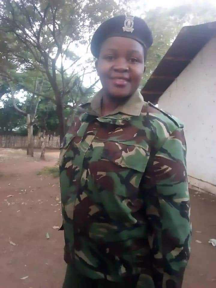Meet hot Taita Taveta police officer who caught the attention of many men in the region
