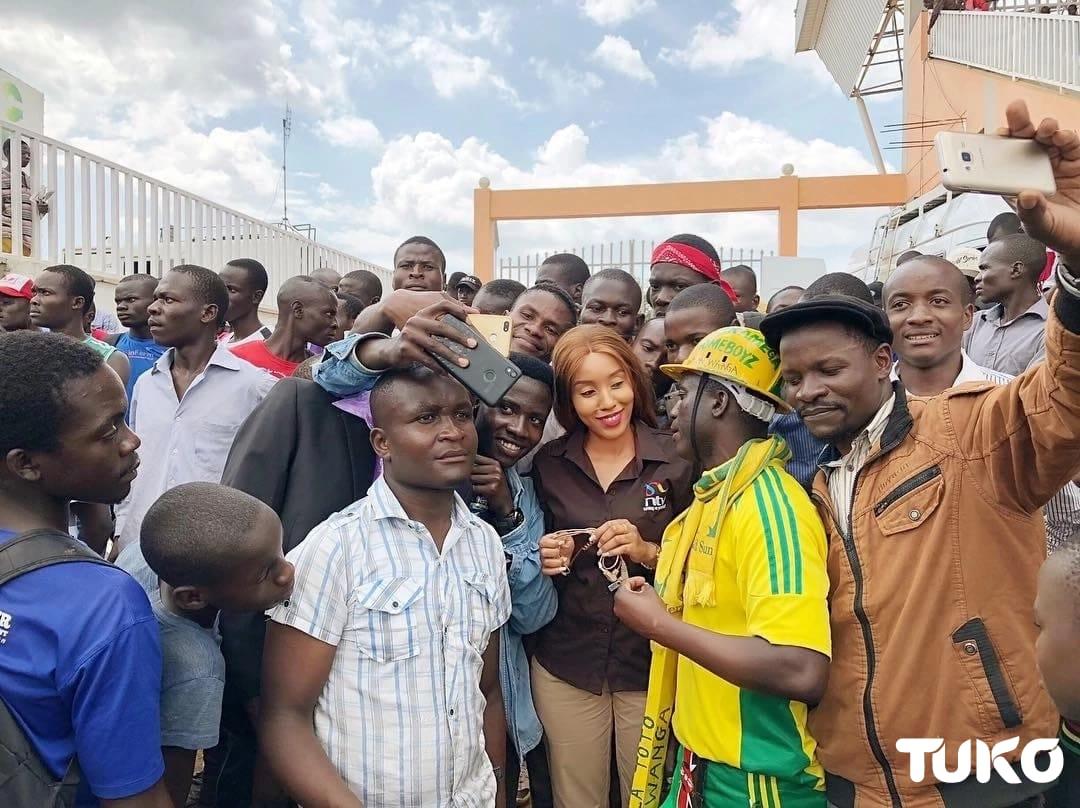 Jamaa ajitia aiubu kubwa Kakamega baada ya kukataliwa na Doreen Majala wa NTV