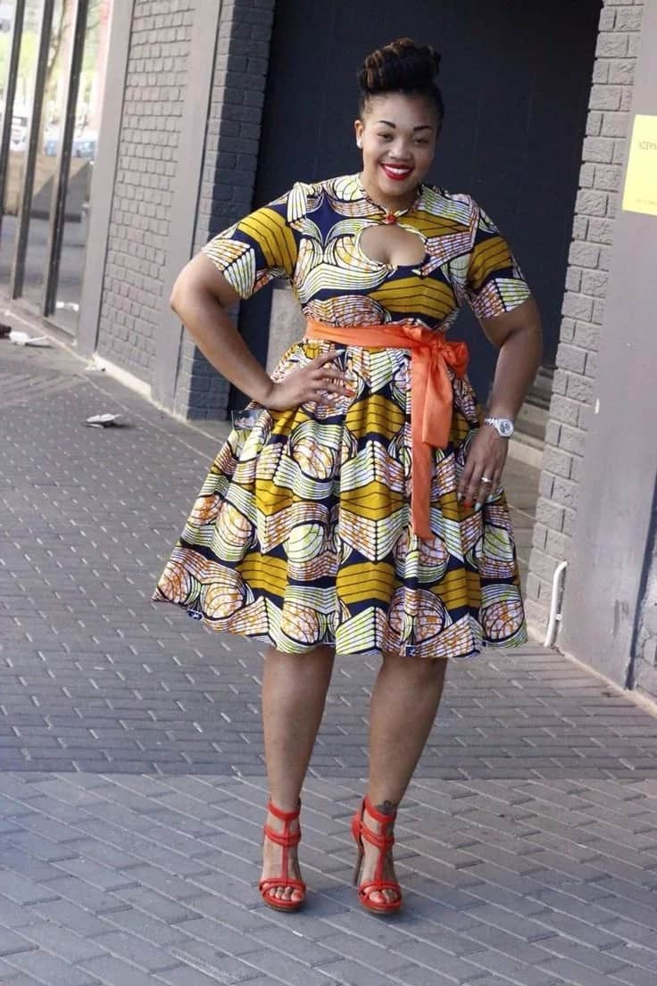 2018 Trends Of African Print Dresses For Plus Size Ladies ...