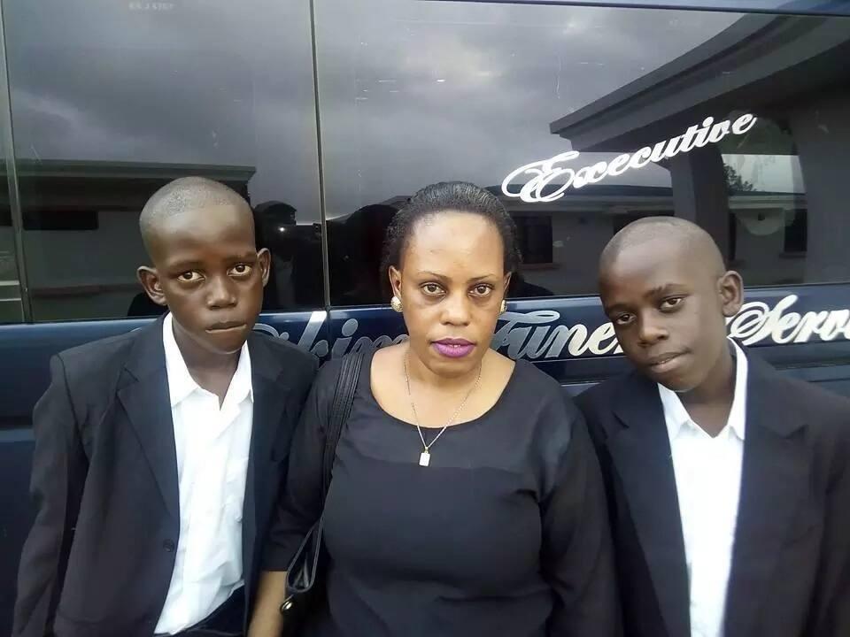 Mumewe Esther Arunga, Quincy Timberlake katika kashfa nyingine huku mwanamke Mkenya akimfichua kama baba bwege (picha)