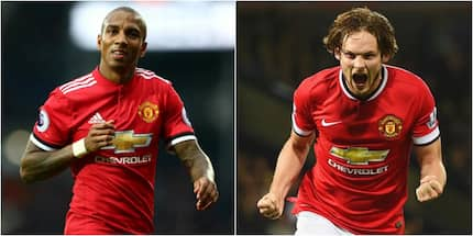 Ashley Young na Dailey Blind watia saini na Manchester United