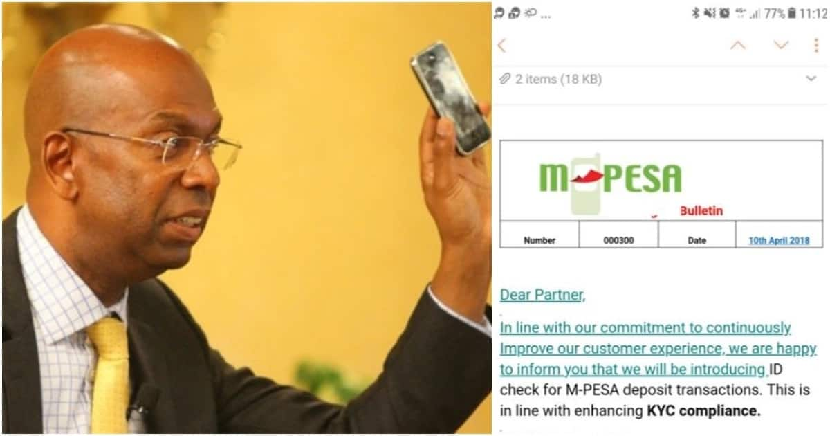M-pesa agents will soon be required to enter customer ID number to complete transactions