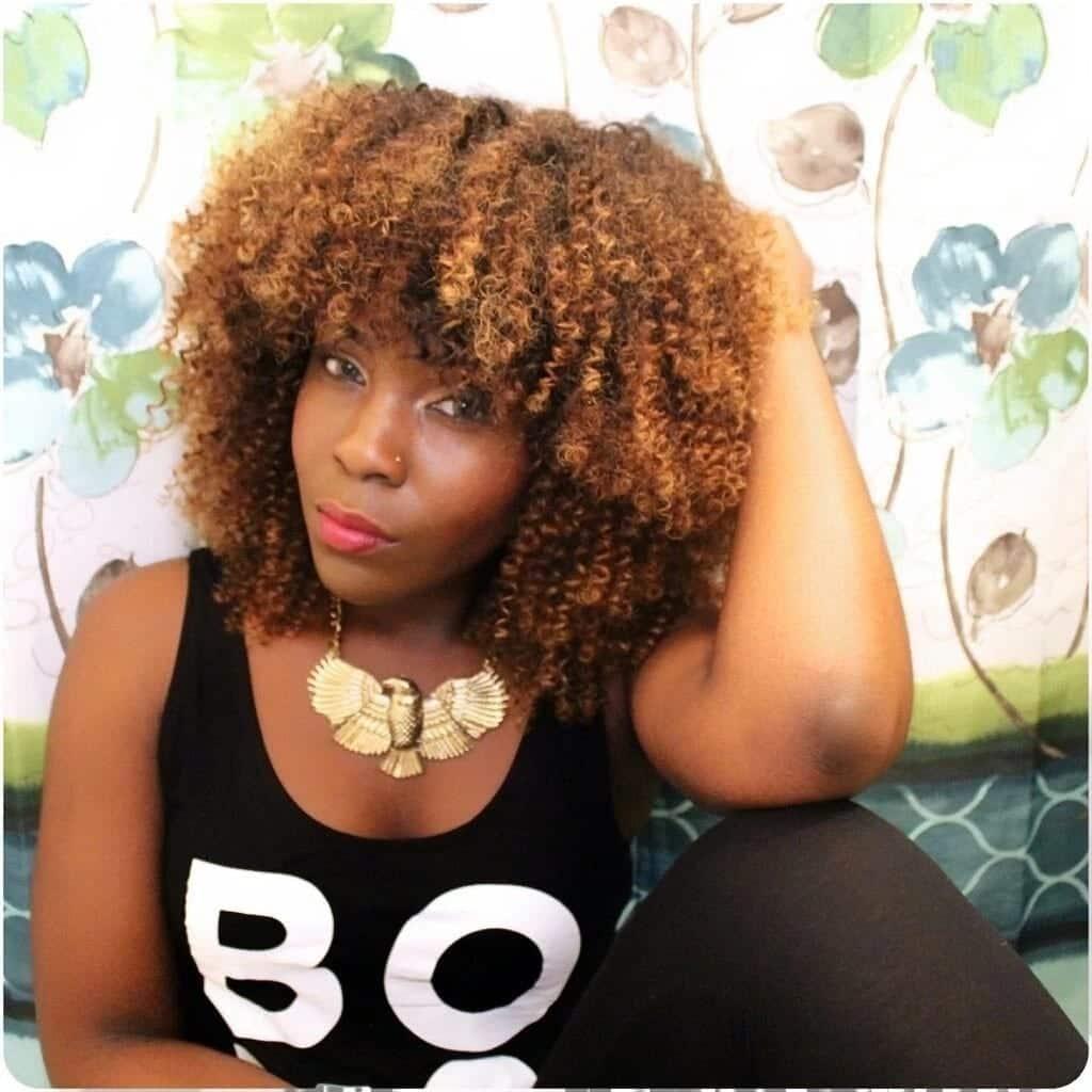 Afro kinky hairstyles in Kenya