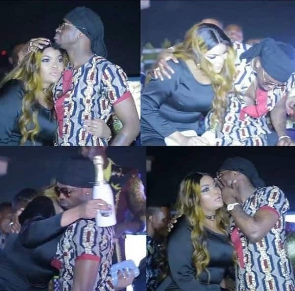 I respect my family and hold no grudges against Wema - Diamond responds after he was spotted with ex