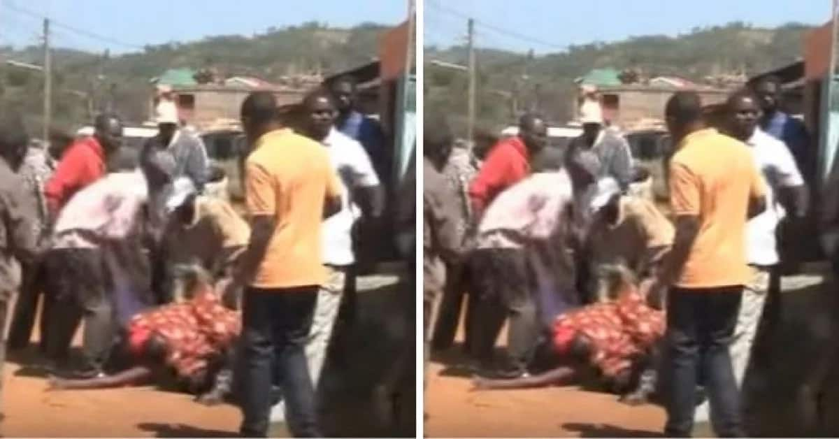 Kisii again! Couple gets stuck in the act bringing the town to a halt