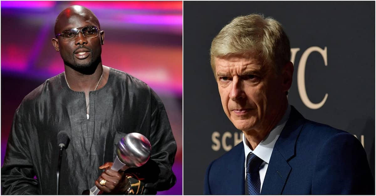 Ex-Arsenal boss Arsene Wenger receives top honour from President Weah in red-carpet ceremony