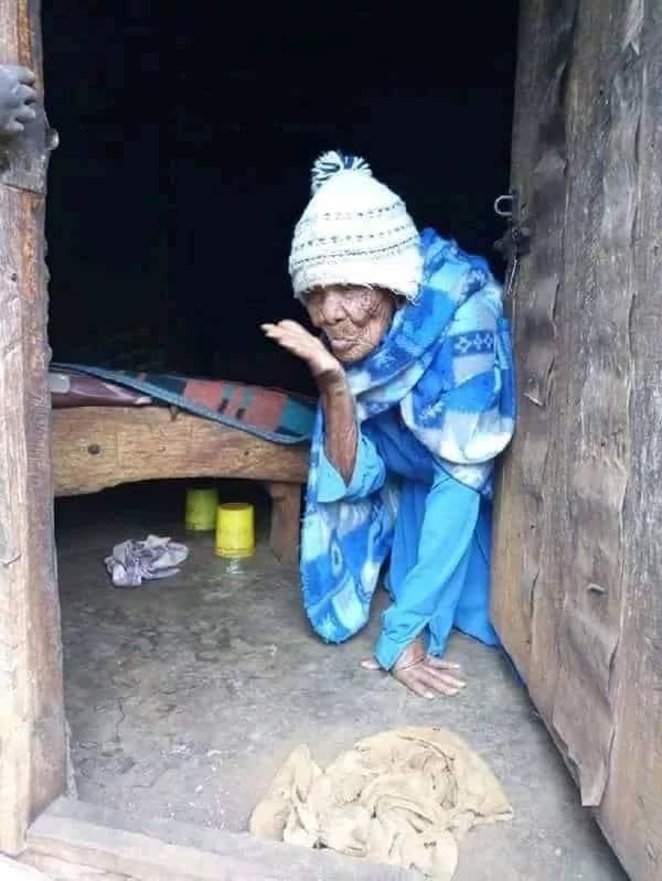 Picha za mwanamke mwenye umri mkubwa zaidi nchini, 138, zawagusa nyoyo za Wakenya
