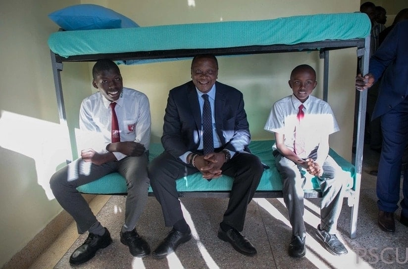 Uhuru urges students to accept grades they will get in national exams