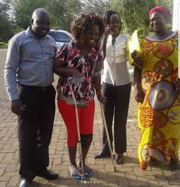 I could not sit, talk or walk - Socialite Mishi Dora shares past struggles as a cripple