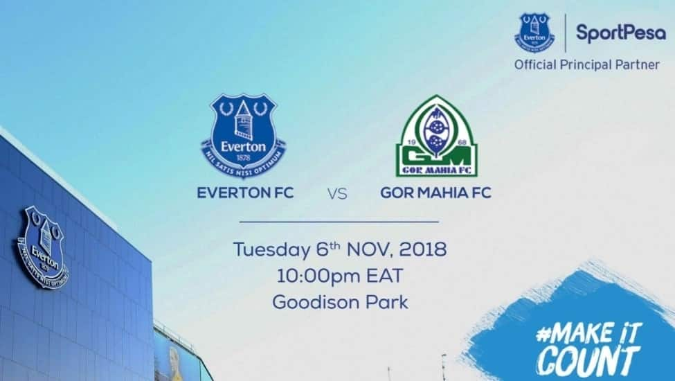Date is set for the first Kenyan club to play an EPL side on English soil