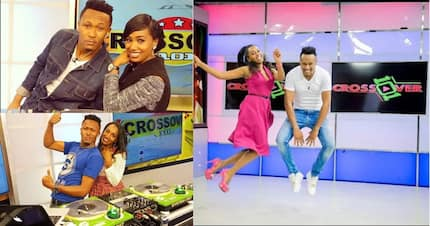 17 unbelievably matching photos of Gospel DJ, MO, and his co-presenter, Grace Ekirapa, which Size 8 must see