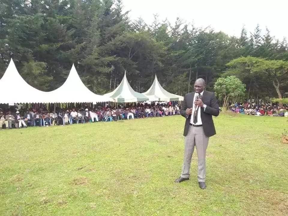 Former Cherangany MP Wesley Korir claims Kutuny is maize cartel