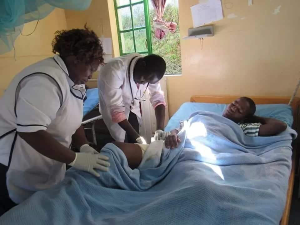 Mwanamke aponea baada ya kufyatuliwa risasi na mumewe aliyejiua muda mfupi baadaye