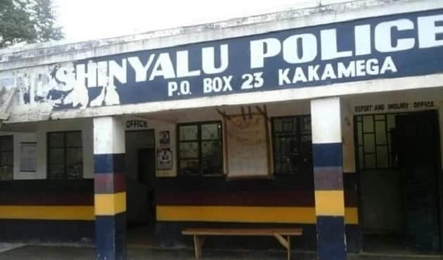 Police officer badly clobbered by drunkards at changaa den in Kakamega during crackdown