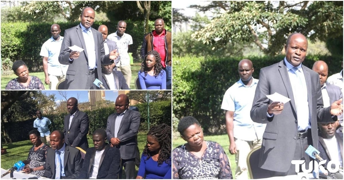 Okoth Obado's wife steals show with her body language at the governor's highly anticipated press conference