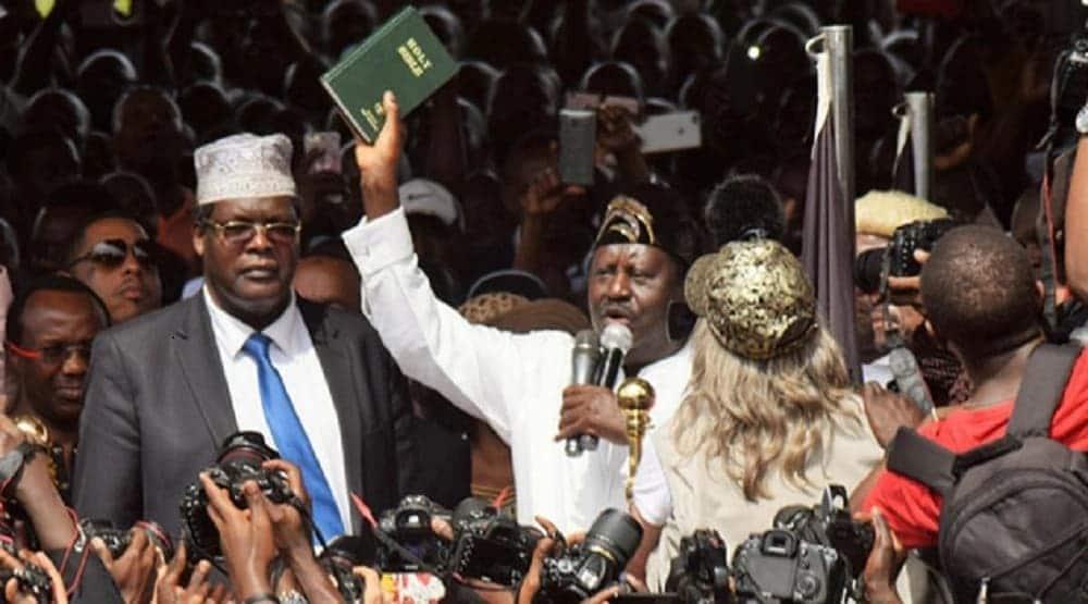Miguna Miguna declares Raila Odinga ordinary Kenyan, no longer People's President