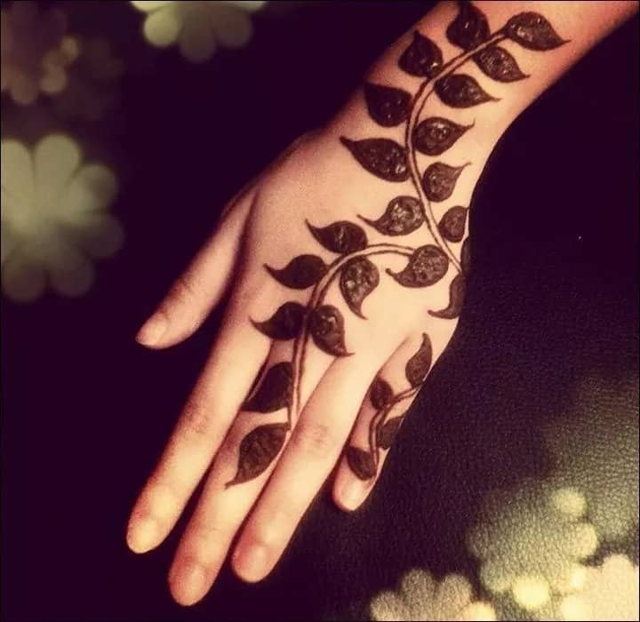 Fall Henna Designs: Beautiful Mehndi Designs Arabic 2018 Tuko.co.ke