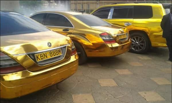 Sonko is known for his liking of the color of gold
