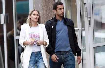 Man United star Henrikh Mkhitaryan goes on a date with ex-wife of former Liverpool star (photos)