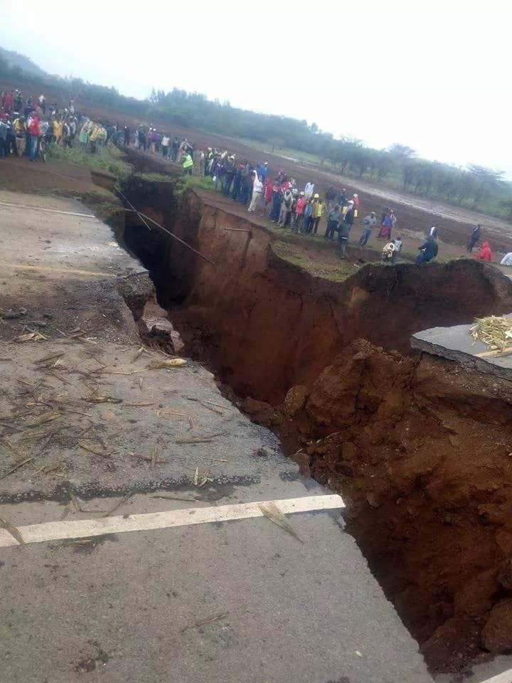 Serikali yakarabati sehemu ya barabara ya Nairobi-Narok iliyoharibiwa kwa muda mfupi