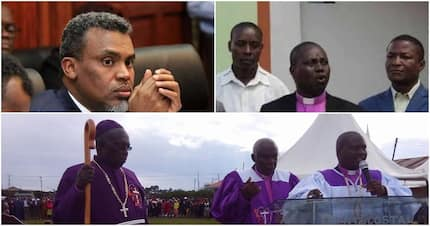 All corruption suspects are supposed to be treated with respect - Bishop John Okinda