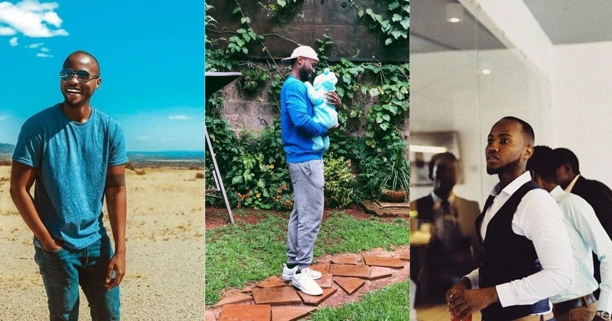 Handsome actor Nick Mutuma shares cute daddy-daughter photo and Vera Sidika can't keep calm