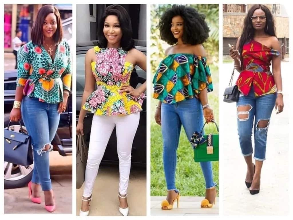 Latest Ankara top styles