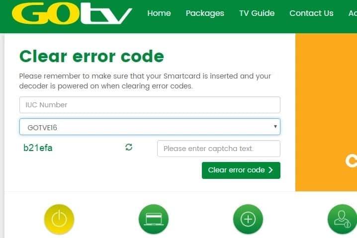 clear gotv error code gotv error code e16-4 clearing e16 error on gotv kenya removing e16 error  reset e16