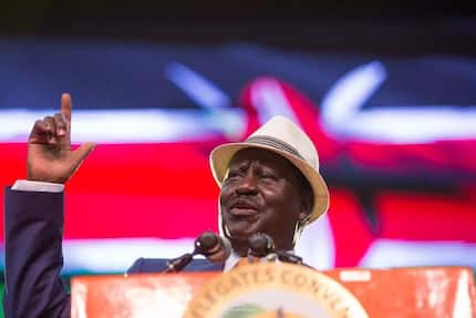 Raila Odinga still too young to retire from politics - ex-Attorney General