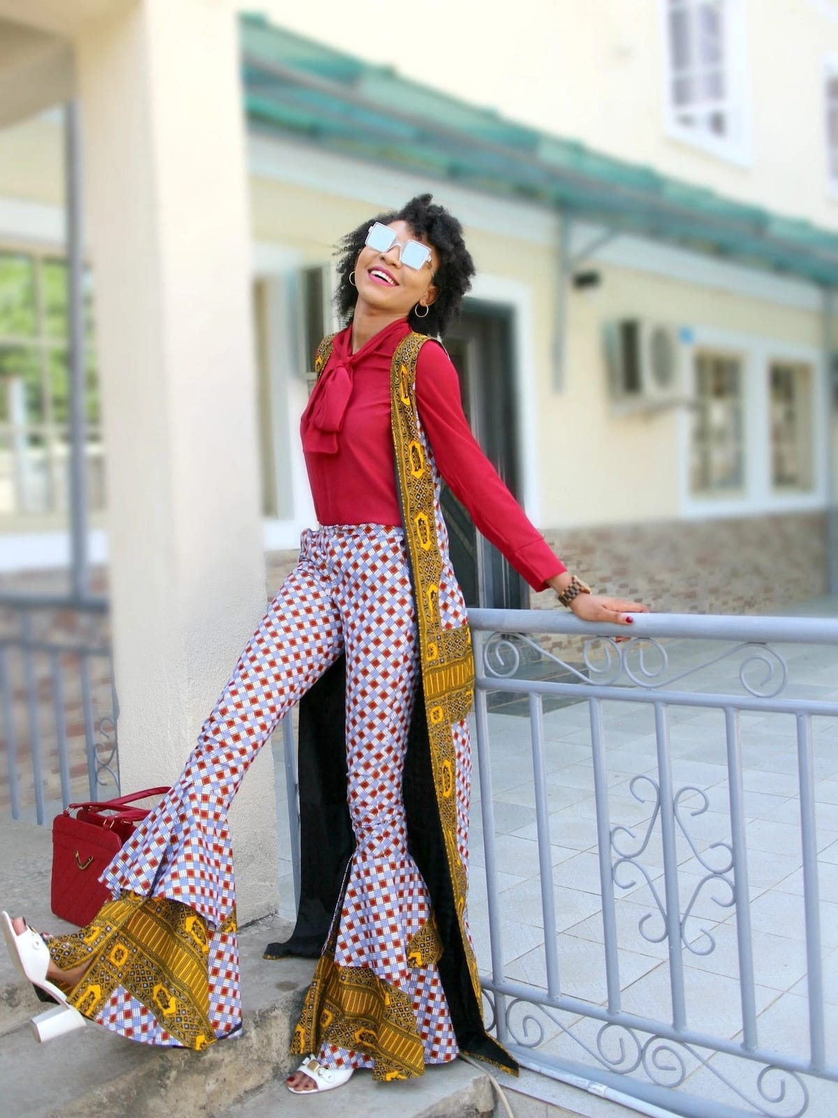 Trendy ankara trousers styles for ladies 2018