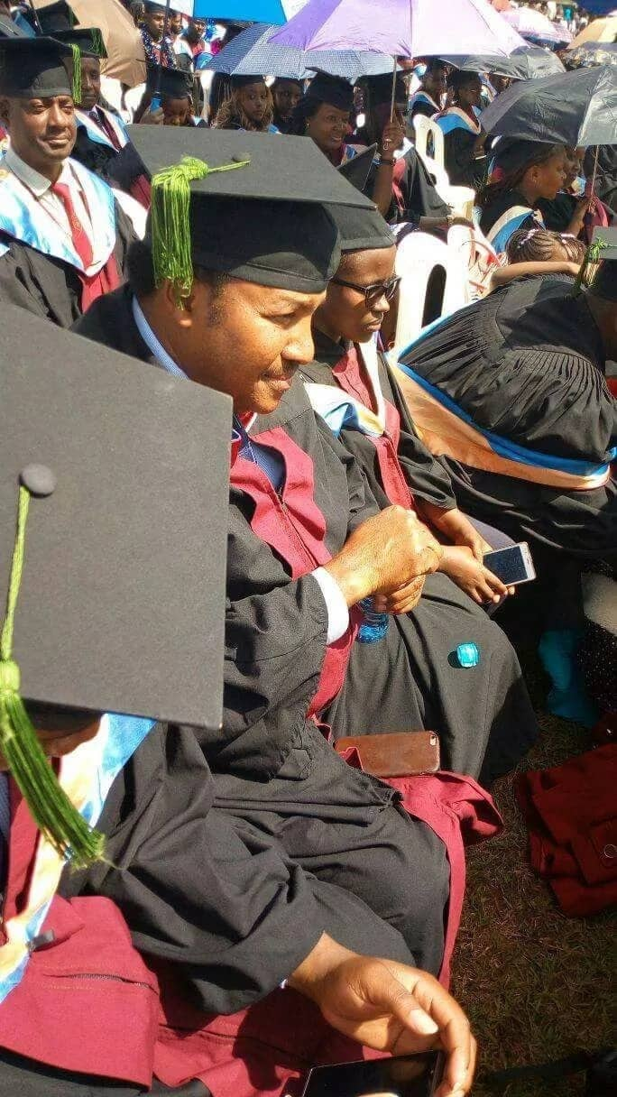 Waititu reveals how he managed to study for his Masters degree