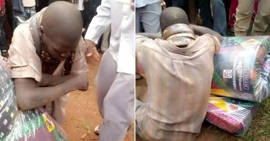Nyoka 'amkamata' mwizi wa godoro Uganda na kushangaza