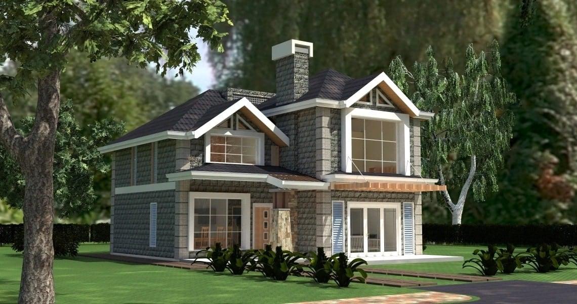 Maisonette house plans 4 bedrooms Free maisonette house plans Free download house plans Kenya 4 bedroom maisonette house plans