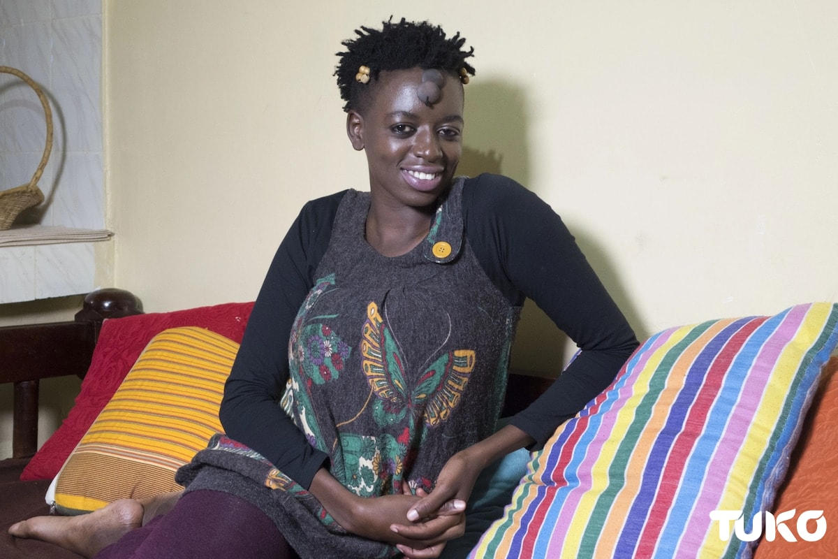 HIV positive Nairobi woman explains how father of her 2 children avoided being infected