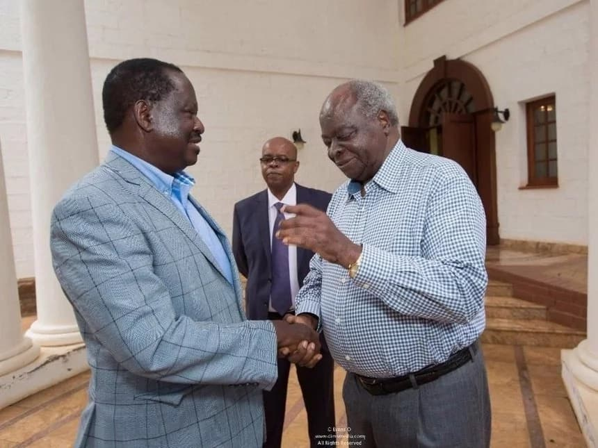 Kalonzo, Mudavadi na Wetangula walikuwa 'wakilala' nilipokutana na Uhuru – Raila