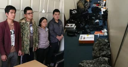 Five Chinese nationals arrested with military uniform, other security items in Nairobi