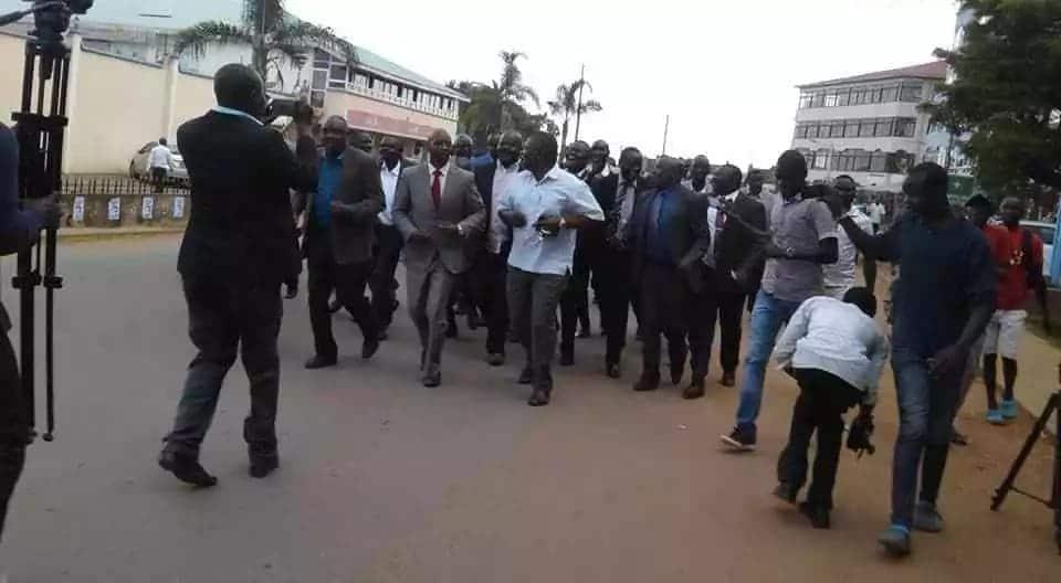 Bungoma MCA's initiate process to impeach governor over poor development record