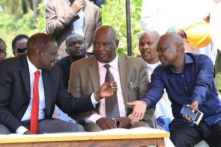 Blog: Politicians falling over themselves for a piece of William Ruto's money